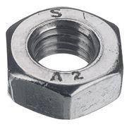 Гайка низкая DIN439В М3 нержавеющая сталь А2 (1000 шт/уп)
