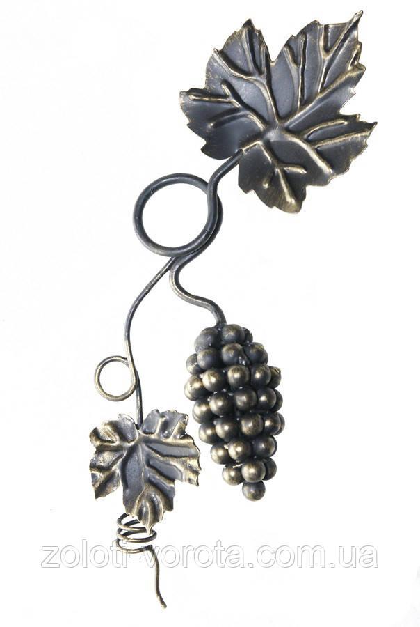 Кованая виноградная  композиция большая