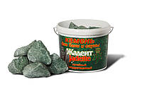 Камни для бани жадеит колотый средний 5 кг