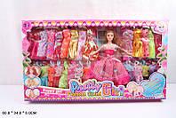 Кукла типа Барби Q22A3 с набором одежды, в коробке 60*34*6 см