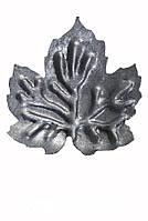 Кованый элемент лист виноградный М 110
