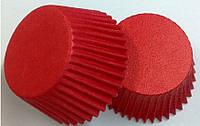Форма бумажная красная для кексов тарталетка 1000 шт.