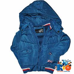 Куртка (весна-осень) на меху, для мальчика 1-3 года (5 ед в уп)