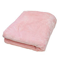 Плед плюшевый розовый 150х180см ТМ Прованс