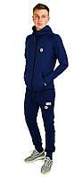 Синий мужской спортивный трикотажный костюм DSQUARED2