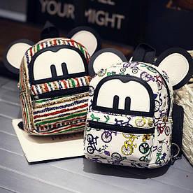 Детский рюкзак Микки из холста