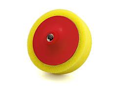 """Полировальный круг в оправке жесткий - Flexipads Pro-Bodyshop 150x50 мм. (6"""") жёлтый (44305)"""