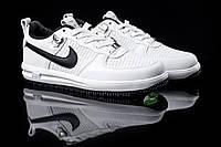 Новинка! Мужские кроссовки Nike Lunar Force 2018 / Цвет: белый с черными вставками