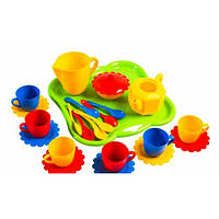 Набор игрушечной посуды Ромашка 24 элемента (39156)