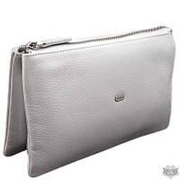 Женский кожаный белый клатч Desisan 070-1