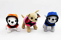 Мягкая игрушка собачка SF265362 , 3 вида, В ПАКЕТЕ 15*16 см