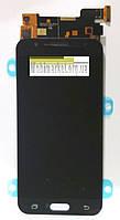 Модуль (дисплей + сенсор) для Samsung J320H/DS Galaxy J3 (2016) AAA OLED чорний