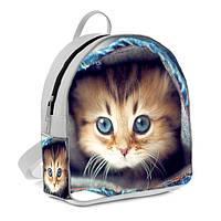 Красивый детский рюкзак с котиком