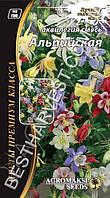 Семена цветов Аквилегия «Альпийская» смесь 0.2 г