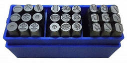 Набір цифр та спеціальних символів 8 мм, фото 2