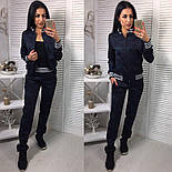 """Женский стильный костюм """"Милитари"""": мастерка и брюки (2 цвета), фото 2"""
