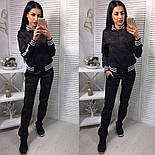 """Женский стильный костюм """"Милитари"""": мастерка и брюки (2 цвета), фото 3"""