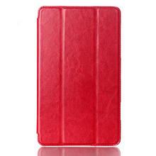 Чехол Crazy Horse Leather для Samsung Galaxy Tab S 8.4 T700 T705 красный