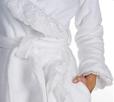 Отбеливание халата