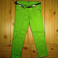 Детские котоновые брюки для девочки 3-8 лет Beebaby (Бибеби)