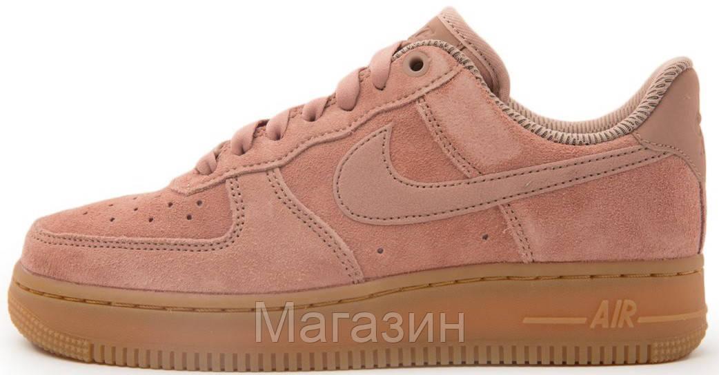 Женские Кроссовки Nike Air Force 1  07 SE Particle Pink Найк Аир Форс  Розовые — в Категории