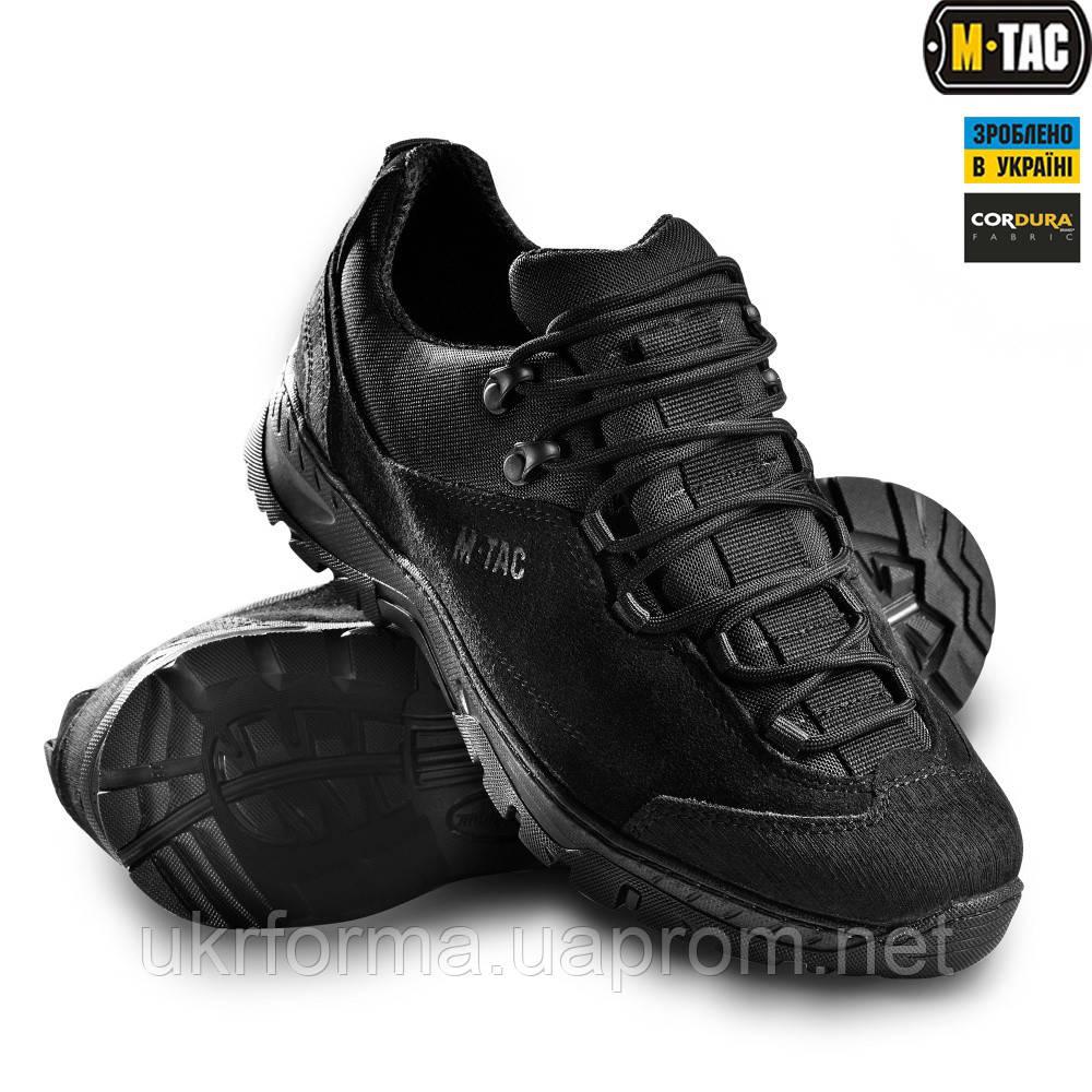 M-TAC кросівки тактичні PATROL BLACK