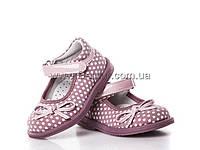 Туфли детские для девочек весна-осень (19-24) Clibee-apawwa-H-78-pink