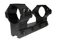 Крепление КМ-04 монолит, высокое, 11 мм., 30 мм. (4 болта)