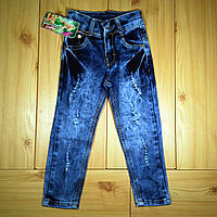 56e9c2432b370e6 Детские джинсы для девочки рр. 98-122 Цветы Beebaby (Бибеби), цена ...