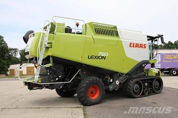 Комбайн зерноуборочный CLAAS Lexion 750 TT (2011г.)