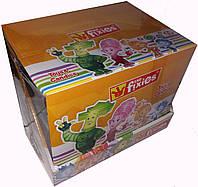 Пластиковое яйцо с игрушкой и драже Фиксики 12 шт Aras