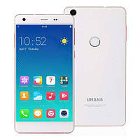 "Смартфон Uhans S1 white, 3/32Gb, 13/5Мп, 8 ядер, 2sim, экран 5"" IPS, 2200mAh, 4G, Android 6.0"