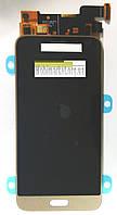Модуль (дисплей + сенсор) для Samsung J320H/DS Galaxy J3 (2016) AAA золотий