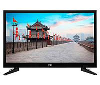 "Телевизор 24"" ERGO LE24CT5000AK LED HD 1366x768 60Hz, DVB-T2, HDMI, USB, VESA (100x100)"