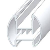 Профиль для LED подсветки картин, анодированный, цвет серебро