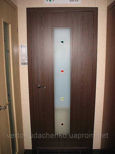 Двери Verto Рута-Fusion 9 цвет Венге «Симплекс»