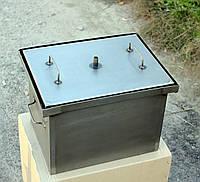 Домашняя коптильня горячего копчения с гидрозатвором (400х300х280), фото 1