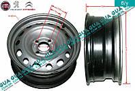 Диск колесный R15 6.5Jx15H2 ET27 металлический ( стальной / железный ) 5401.S6 Citroen BERLINGO (B9) 2008-, Peugeot PARTNER B9 2008-
