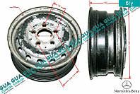 Диск колесный R15 6Jx15H2 металлический ( стальной / железный ) 9034010802 Mercedes SPRINTER 1995-2000, Mercedes SPRINTER 2000-2006, VW LT28-55