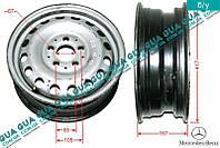 Диск колесный R15 6.5Jx15H2 ET60 металлический ( стальной / железный ) 6384011501 Mercedes VITO W638 1996-2003, Mercedes V-CLASS 1999-2003