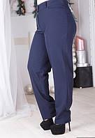 Классические брюки с карманами батал