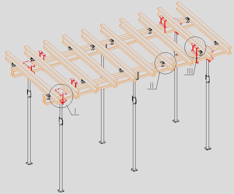 Аренда опалубки. Опалубочные столы.
