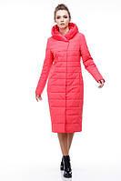Удлиненное демисезонное женское пальто