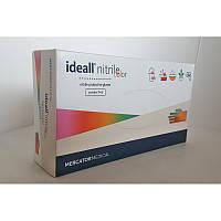 Перчатки нитриловые неопудренные IDEALL NITRILE (светло-серый)