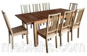 """Стол обеденный нераскладной """"Степ"""" для кухни Fusion Furniture, фото 3"""