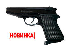 Пистолет стартовый EKOL MAJAROV Black, 9мм (7+1патр)