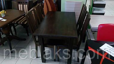 """Стол нераскладной """"Степ Плюс"""" для кухни (ПРОХОДНАЯ НОГА) Fusion Furniture, фото 3"""