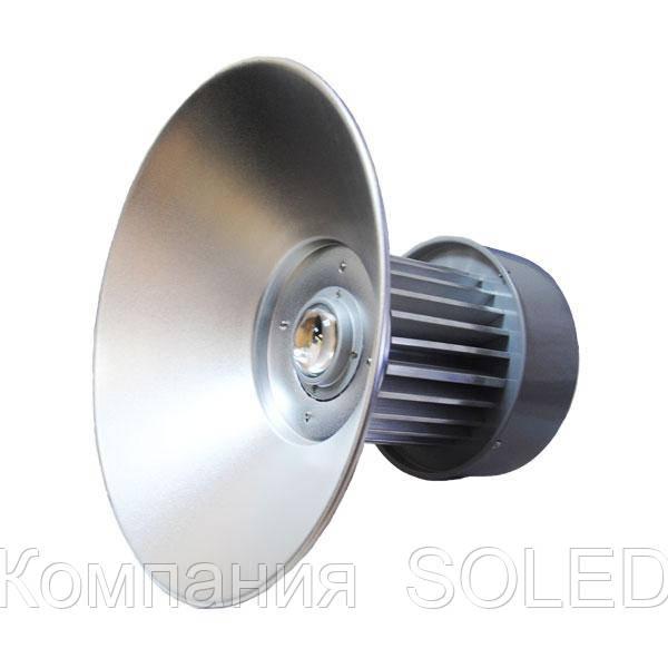 Led светильник для высоких пролетов 100w 6500K 7500Lm  подвесной IP54