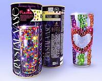 "Ваза с кристаллами, декоративная ваза, для дома,  ""CRYSTAL VASE"" ДАНКО - ТОЙС"