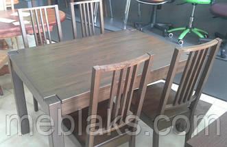 """Стол нераскладной """"Степ Плюс"""" для кухни (ПРОХОДНАЯ НОГА) Fusion Furniture, фото 2"""